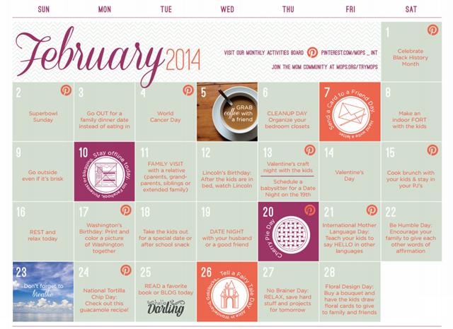 FebMOPS Calendar