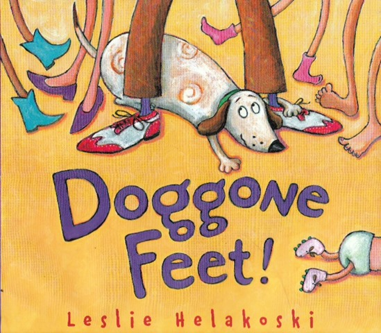 Leslie-Helakoski-Doggone-Feet-book-cover