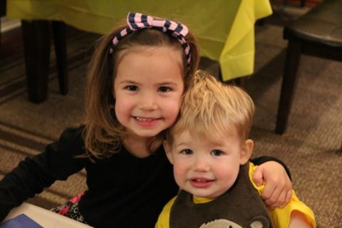 Birthdays: Alex (2) & Dannie (4)